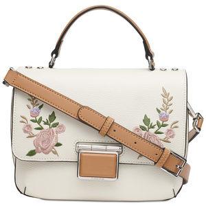 Calvin Klein Dani Floral Leather Crossbody